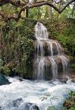 Cascada de la cascada Foto de archivo libre de regalías