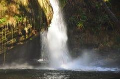 Cascada de la cascada Imágenes de archivo libres de regalías