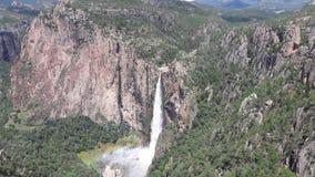 Cascada de la chihuahua de Baseasachi Imágenes de archivo libres de regalías