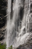 Cascada de la corriente de Lapenkar, Austria Imagenes de archivo