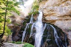 Cascada de la Cueva Immagine Stock