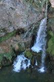 Cascada de la Cueva en Covadonga, Cangas de Onís, Spain Royalty Free Stock Images