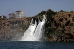 Cascada de la guarida del ¼ de DÃ en Antalya 2 Imágenes de archivo libres de regalías