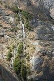 Cascada de la ladera Foto de archivo libre de regalías