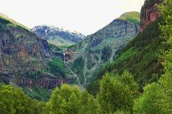 Cascada de la montaña Foto de archivo