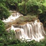 Cascada de la selva tropical Fotografía de archivo libre de regalías