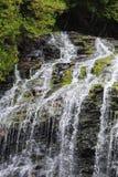 Cascada de las caídas del arroyo del castor Imágenes de archivo libres de regalías