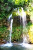 Cascada de Lisine Foto de archivo