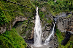 Cascada De Los angeles Novia Zdjęcie Royalty Free