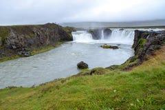 Cascada de los godafoss de Islandia Foto de archivo libre de regalías
