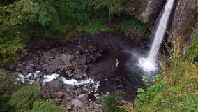 Cascada de México Xico Imágenes de archivo libres de regalías