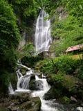 Cascada de Makhuntseti en Georgia Imágenes de archivo libres de regalías
