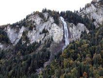 Cascada de Merlingen imagenes de archivo