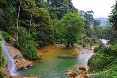Cascada de MU, Vietnam Imagen de archivo