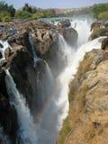 Cascada de Namibia Epupa Imágenes de archivo libres de regalías