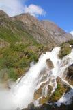 Cascada de Noruega Imagen de archivo libre de regalías