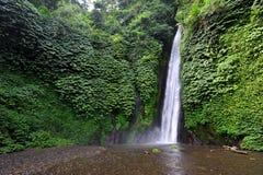 Cascada de Nungung en Bali Fotos de archivo libres de regalías