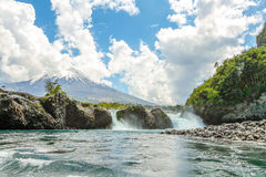 Cascada de Osorno Fotografía de archivo