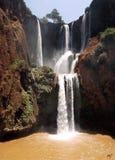 Cascada de Ourzoud. Imagenes de archivo