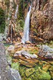 Cascada de Parida (Cachoeira DA Parida) - Serra da Canastra Imágenes de archivo libres de regalías