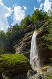 Cascada de Pericnik Fotografía de archivo