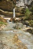 Cascada de Pericnik Fotografía de archivo libre de regalías