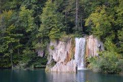 Cascada de Plitvice en Croatia Imágenes de archivo libres de regalías