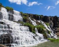 Cascada de Pongour Foto de archivo libre de regalías