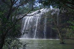 Cascada de Prenn en el parque cerca de la ciudad de Dalat, Vietnam foto de archivo libre de regalías