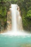 Cascada de Río Celeste Foto de archivo libre de regalías