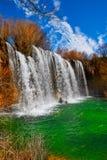 Cascada de San Pedro in Teruel Sierra Albarracin Royalty Free Stock Images