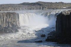 Cascada de Selfoss Imagen de archivo libre de regalías