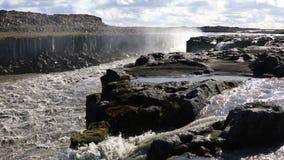 Cascada de Selfoss en Islandia metrajes