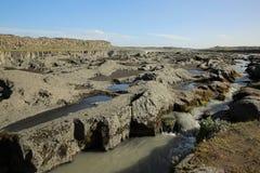 Cascada de Selfoss en Islandia Imagen de archivo