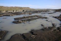 Cascada de Selfoss en Islandia Foto de archivo libre de regalías