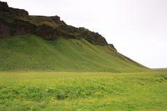 Cascada de Seljalandsfoss, isla Fotografía de archivo libre de regalías