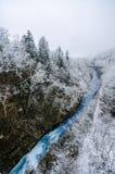 Cascada de Shirogane Foto de archivo libre de regalías