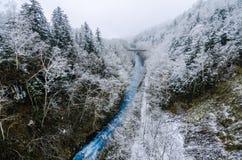 Cascada de Shirohige Imagenes de archivo
