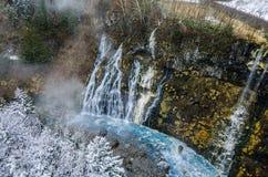 Cascada de Shirohige Fotos de archivo libres de regalías