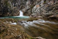 Cascada de Sini Vir, Bulgaria Fotografía de archivo