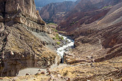 Cascada de Sipia Fotografía de archivo