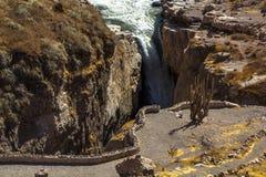 Cascada de Sipia Imagenes de archivo