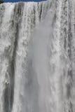 Cascada de Skogafoss Fotografía de archivo