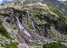 Cascada de Skok, Eslovaquia Imagenes de archivo