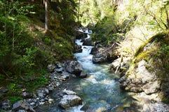 Cascada de Stanghe, Gilfenklamm, Italia Foto de archivo
