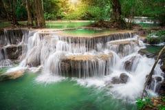 Cascada de Tailandia en Kanchanaburi Foto de archivo libre de regalías