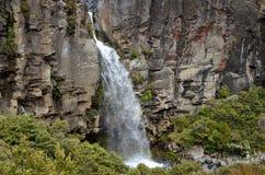 Cascada de Taranaki, Nueva Zelanda Fotos de archivo