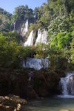 Cascada de Thi Lo Su Foto de archivo libre de regalías