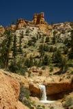 Cascada de Utah Fotos de archivo libres de regalías