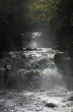 Cascada de WatersMeet Fotografía de archivo libre de regalías